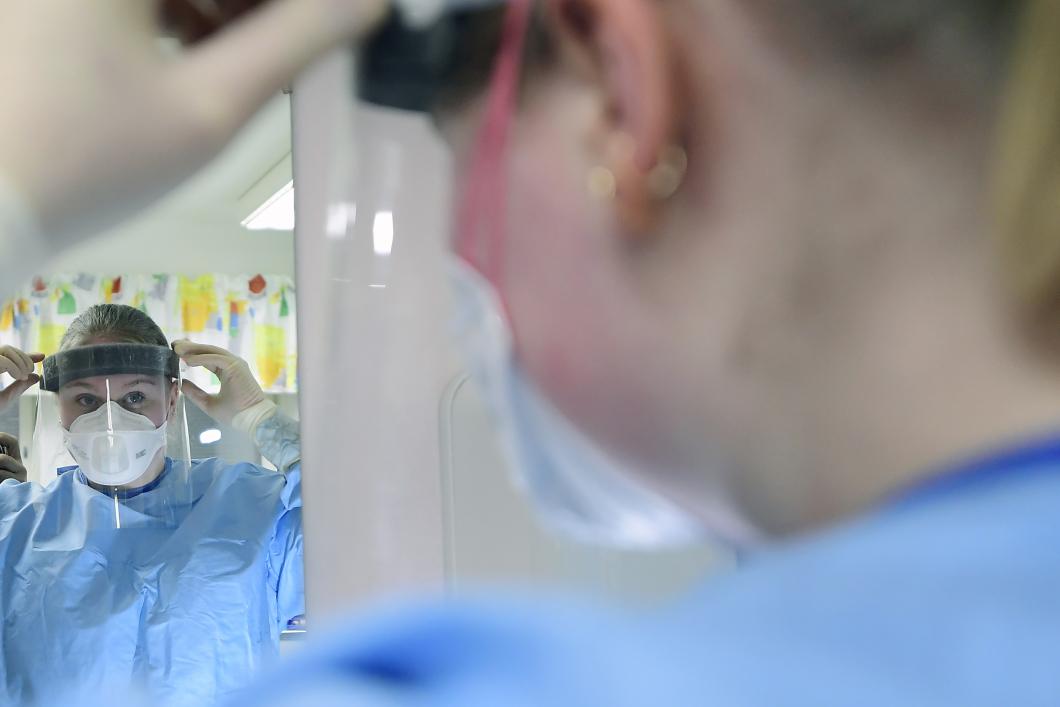 Vårdpersonal känner oro för tiden efter pandemin