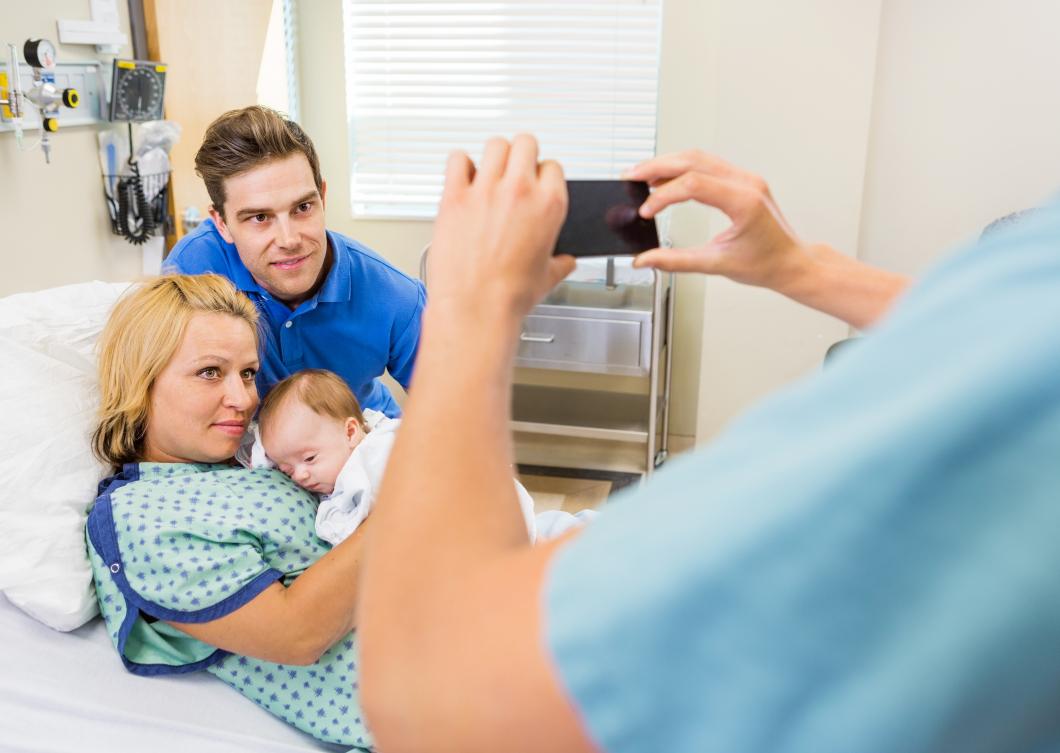 Skärpta regler för foto på sjukhus