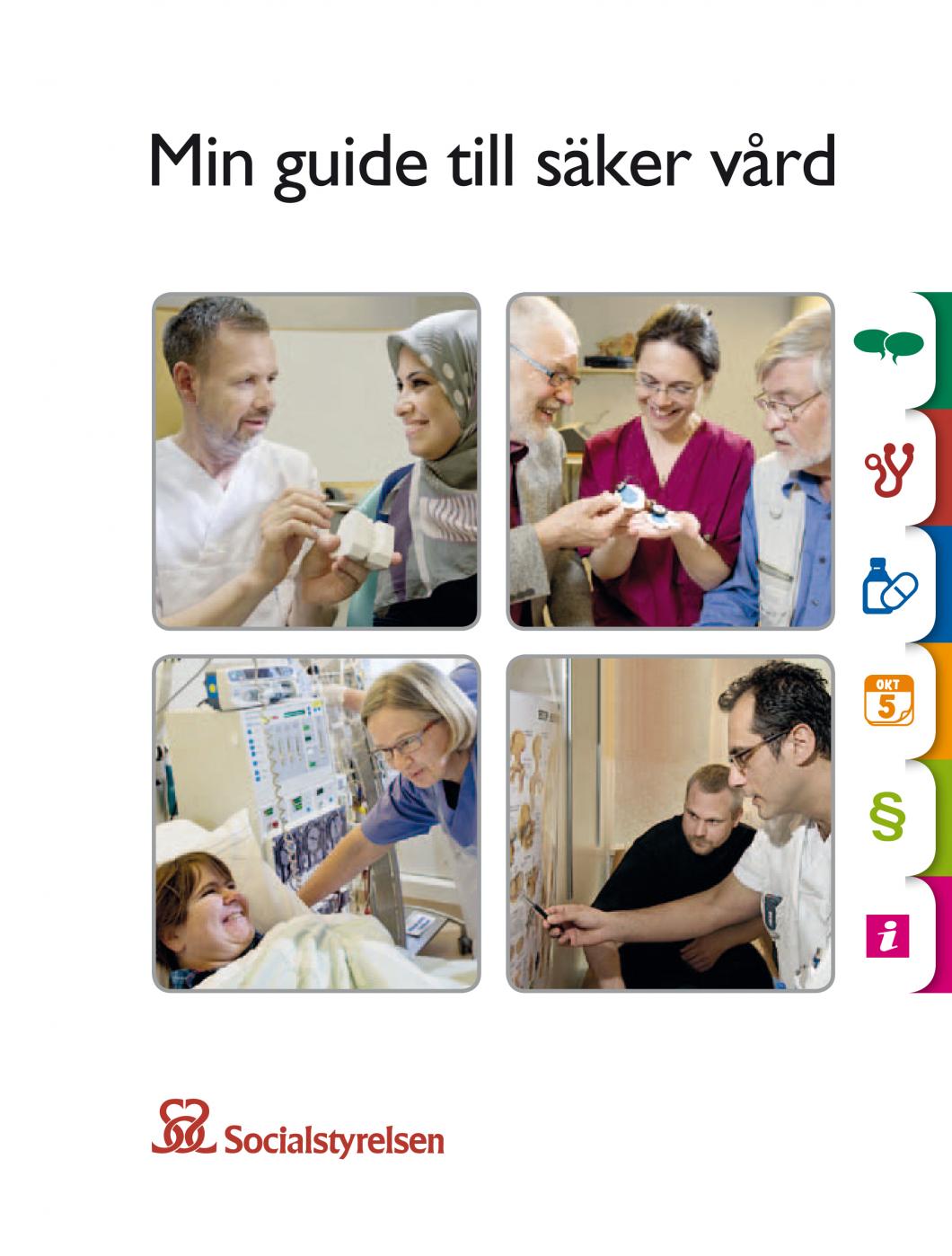 Socialstyrelsen ger ut handbok om säker vård på tio olika språk