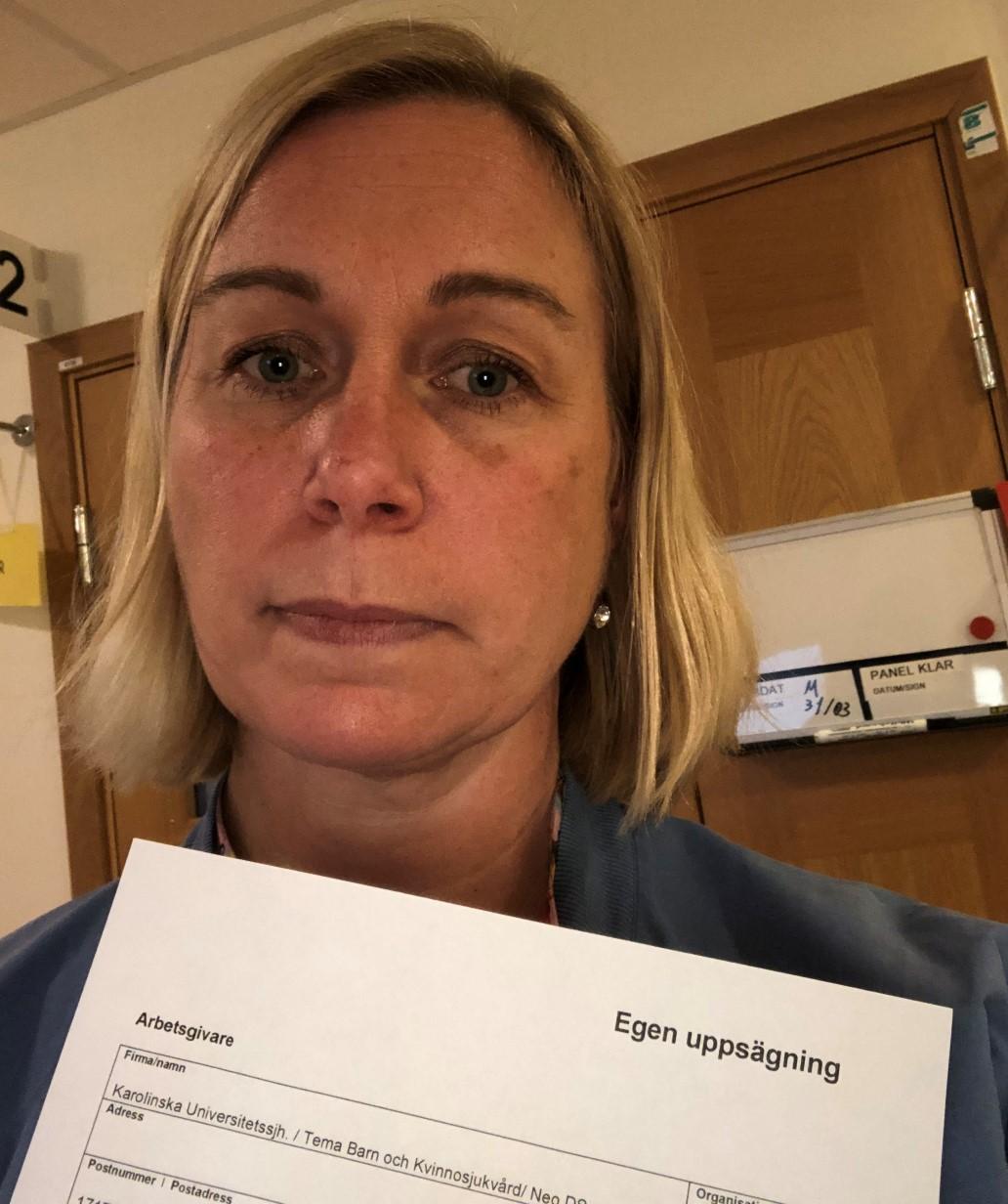Nu börjar sjuksköterskorna på neonatalen säga upp sig