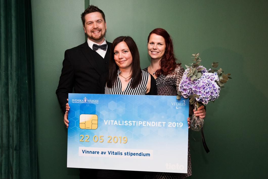 Stödverktyget Astmakollen vann Vitalis stipendium