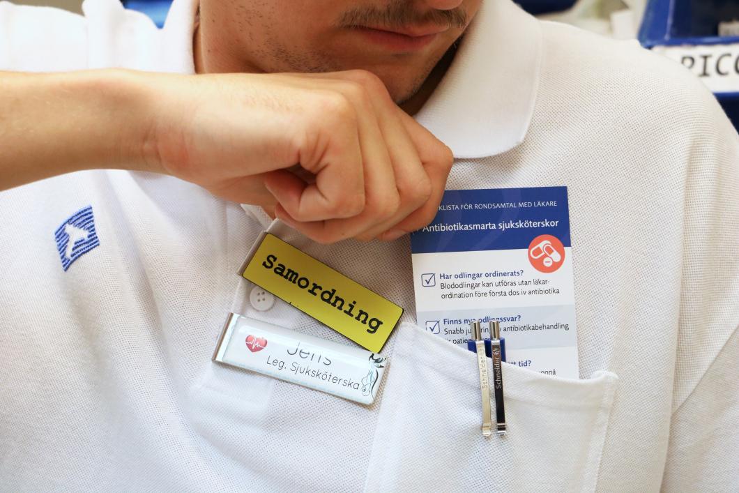 Rondkort gör sjuksköterskor antibiotikasmarta