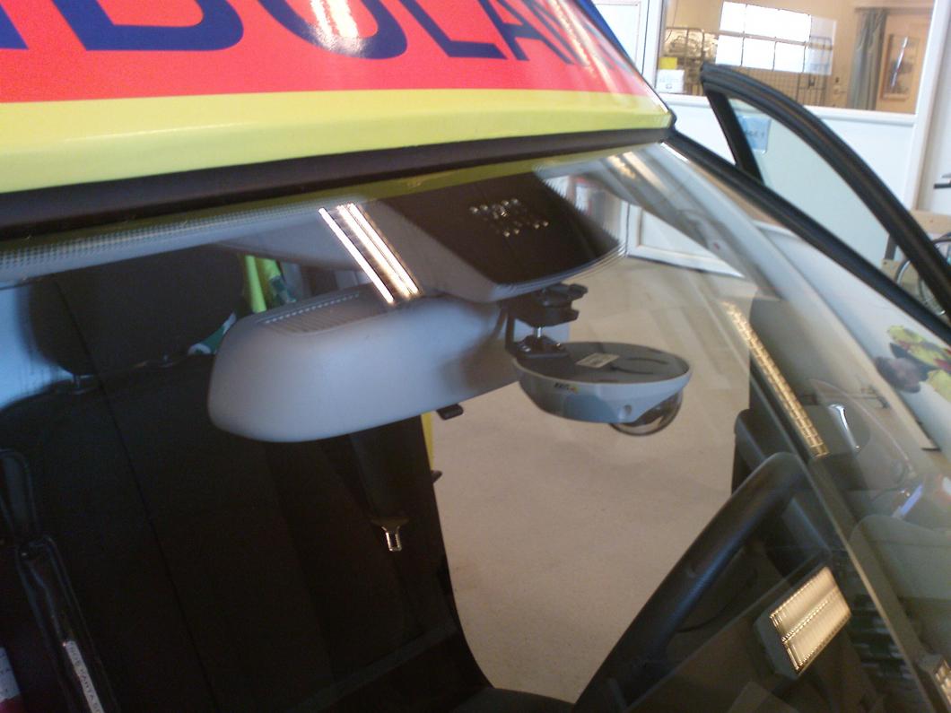 Västerbotten: Ambulanser kameraövervakas