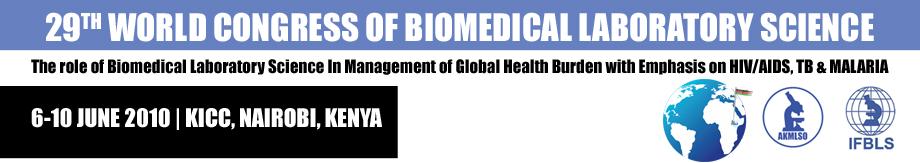 Tveksamt in i det sista om biomedicinska analytikernas världskongress