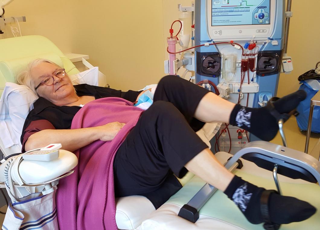 Träning under dialysen gör livet bättre