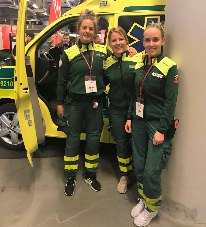 De är svenska mästare i ambulanssjukvård