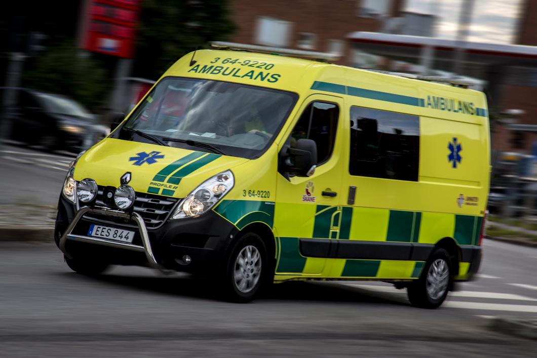 Skånes ambulanser utrustas med olyckskameror på taken