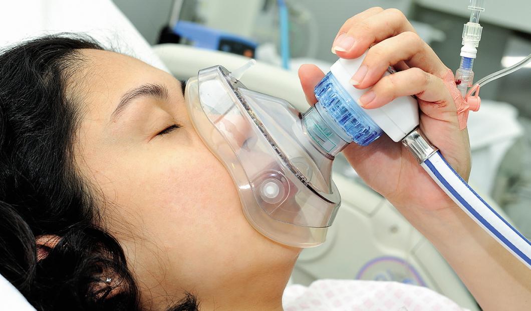 Vrinnevisjukhuset minskar sina utsläpp av lustgas