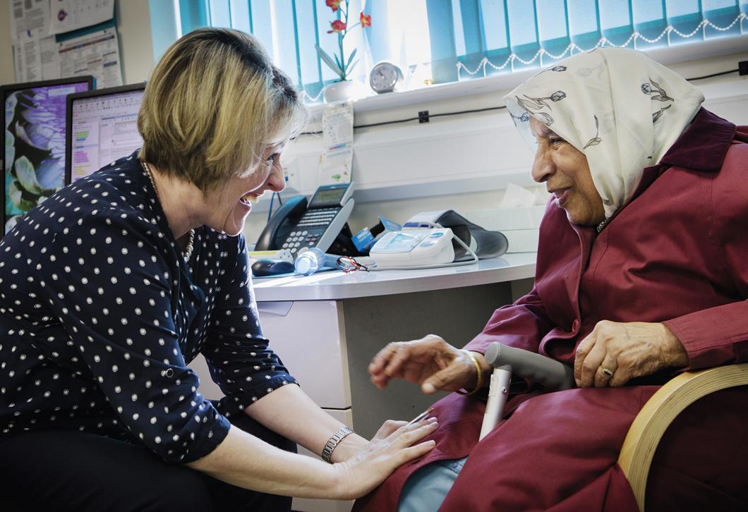 Sjuksköterskor driver Storbritanniens bästa vårdcentral
