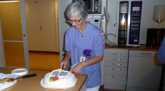Gudrun årets hematologisjuksköterska