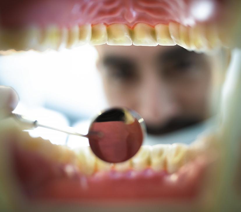 Sjuk mun fara för hela kroppen