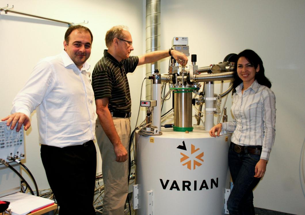 Molekyler i hjärnan kan studeras med nytt instrument