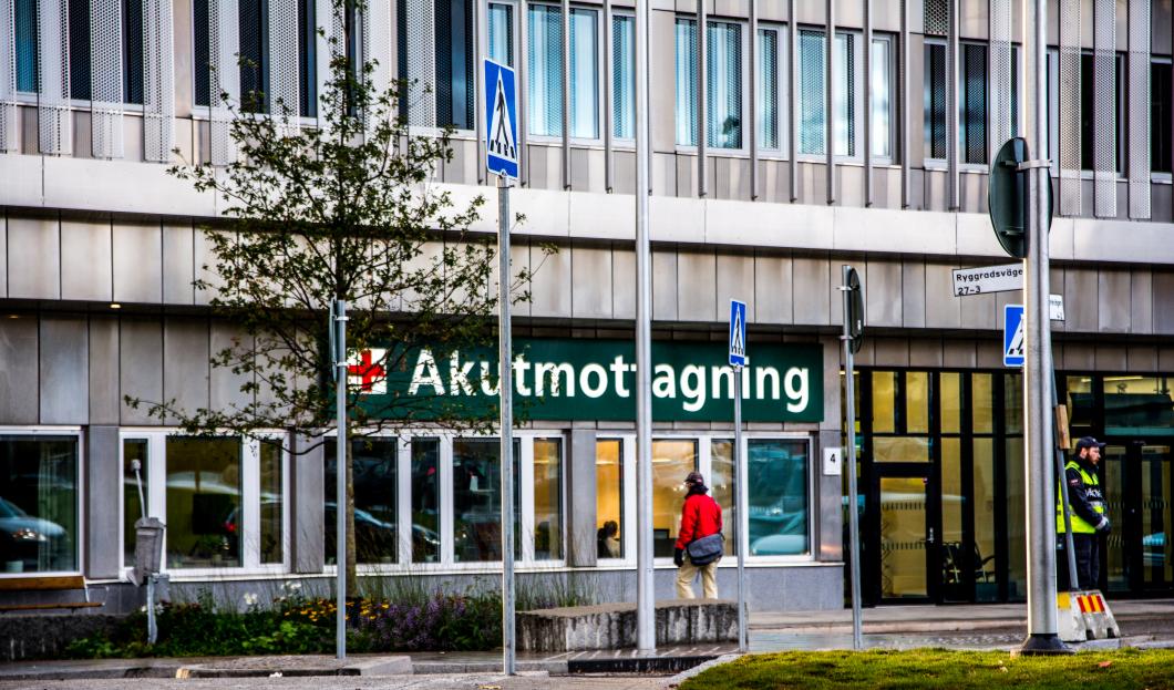 Kraftig minskning av akutvård väcker oro