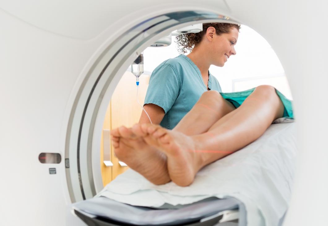 Röntgensjuksköterskor hyllas med tårta och priser