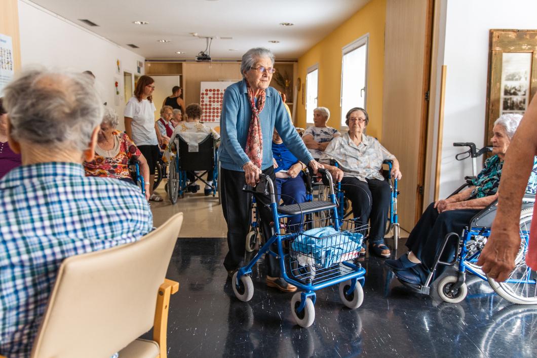 Äldre multisjuka mår bäst på särskilt boende