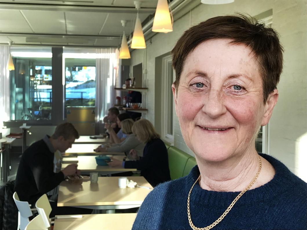 Hon är Gävleborgs första chefsjuksköterska