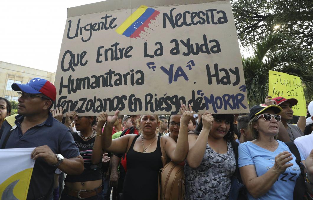 Krisen i Venezuela drabbar sjukvården
