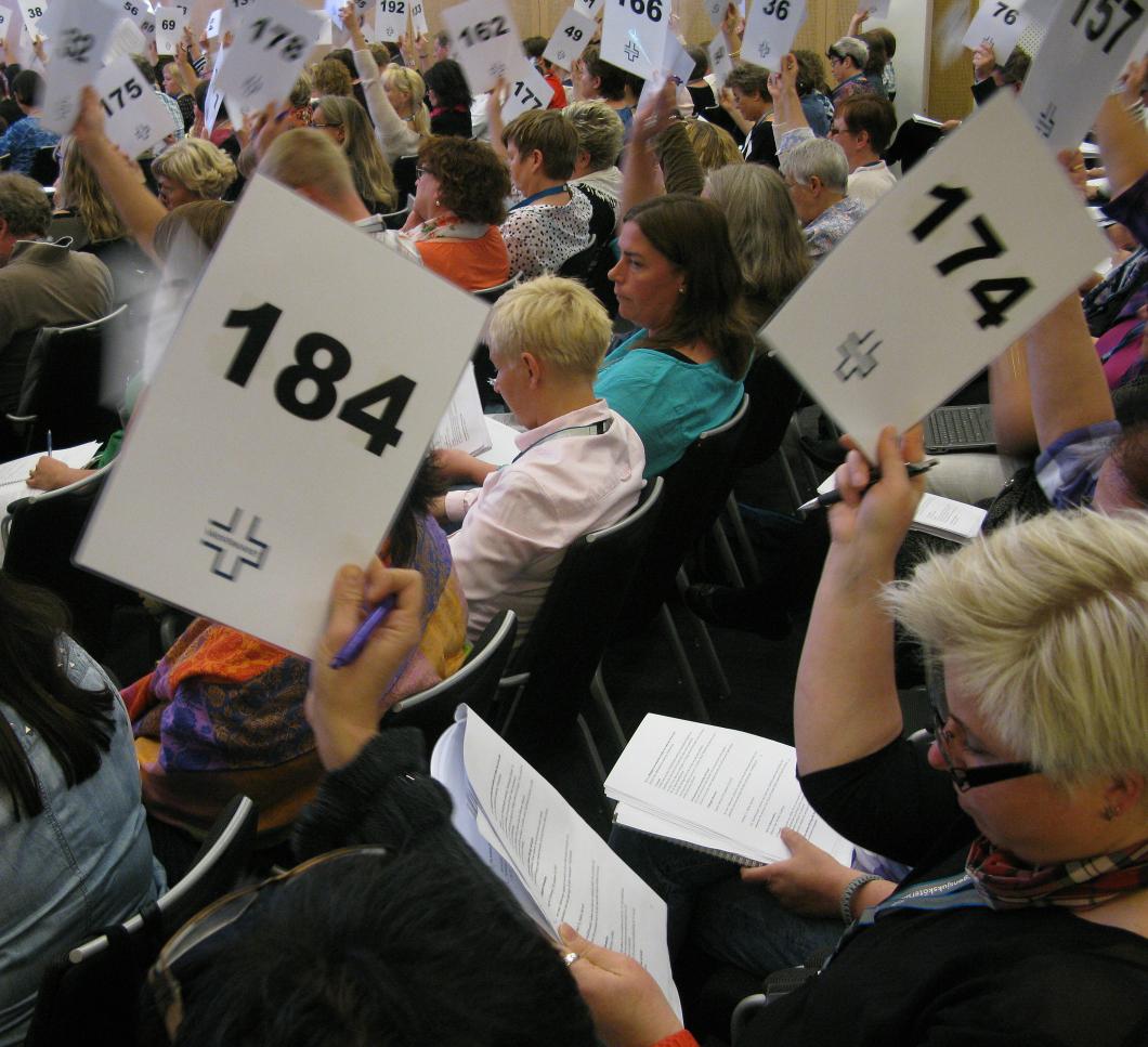 Kongress 2014. Avtalskongressen ersätts av avtalsråd