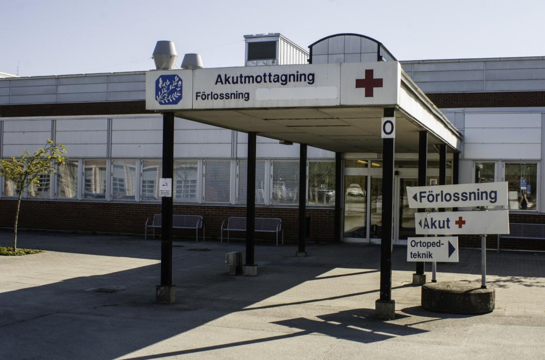 Fem anställda på iva i Varberg smittade av corona