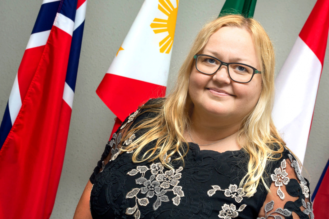 Norska Marie vald till ny ordförande för IFBLS