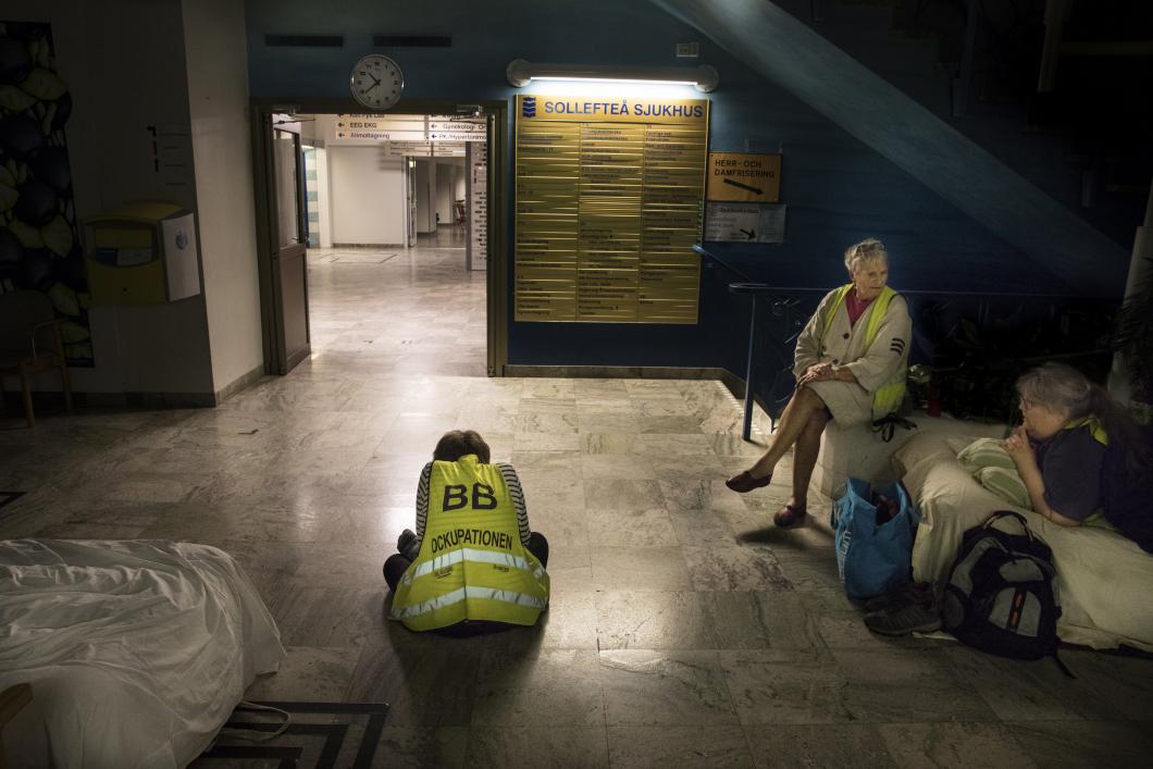 Två års ockupation av BB i Sollefteå