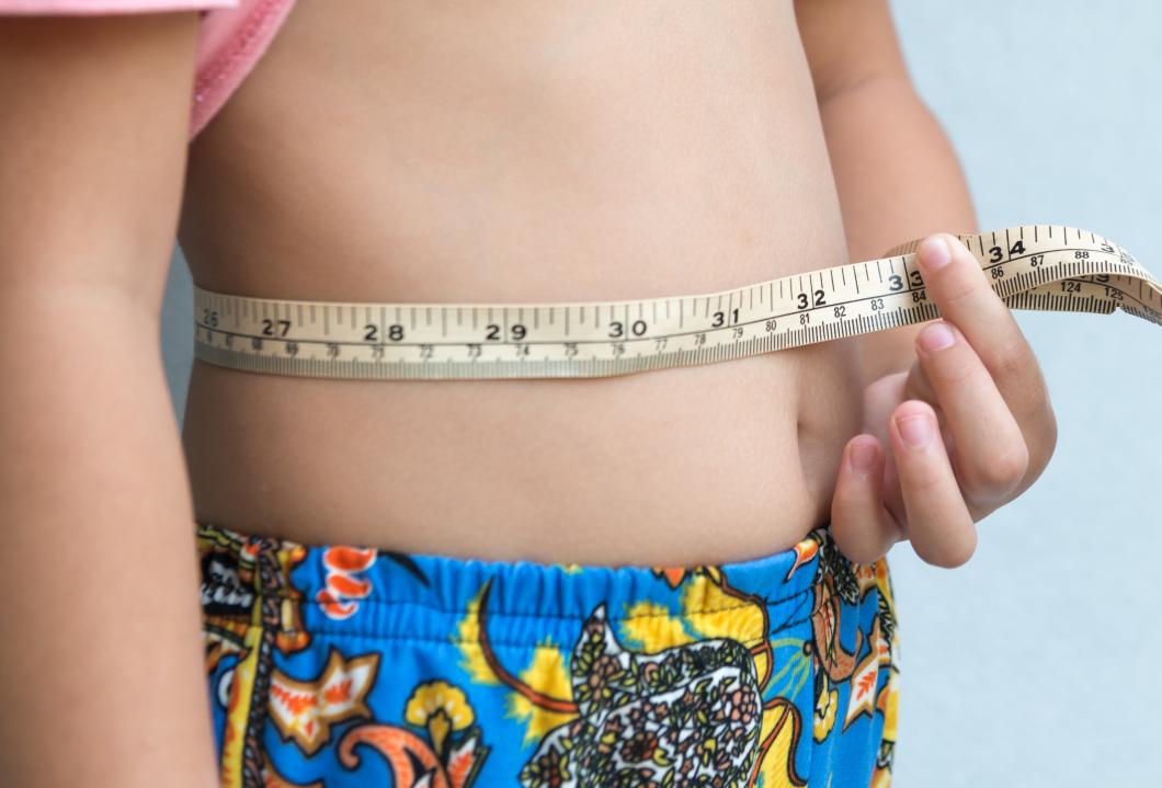 BMI missade vartannat barns förhöjda midjemått