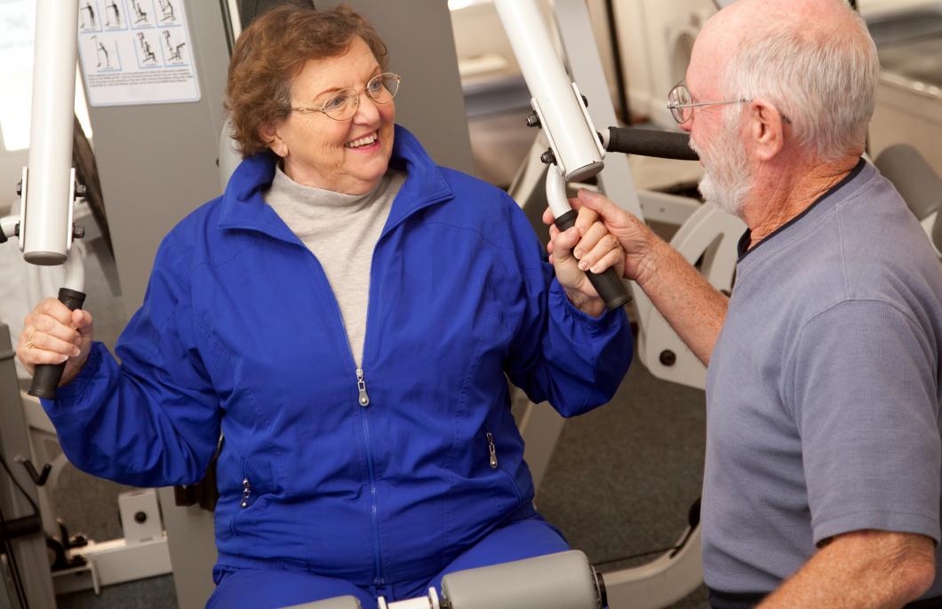 Svaga patienter med kol blir bättre av rehab