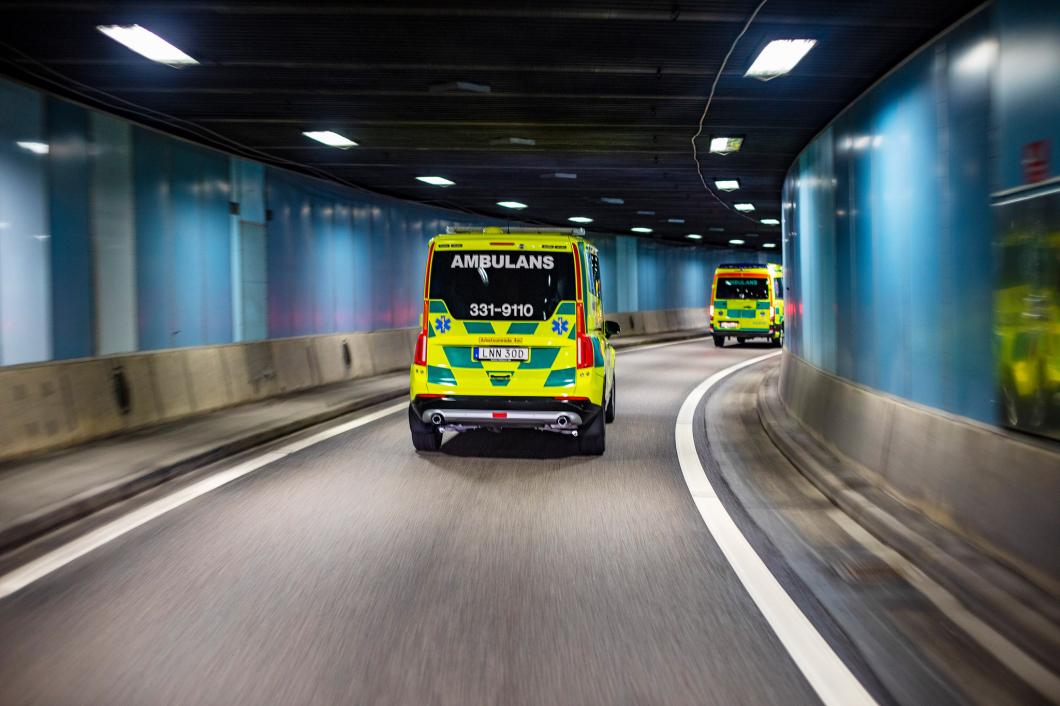 Studie: Var fjärde ambulanssjuksköterska inblandad i bilolycka