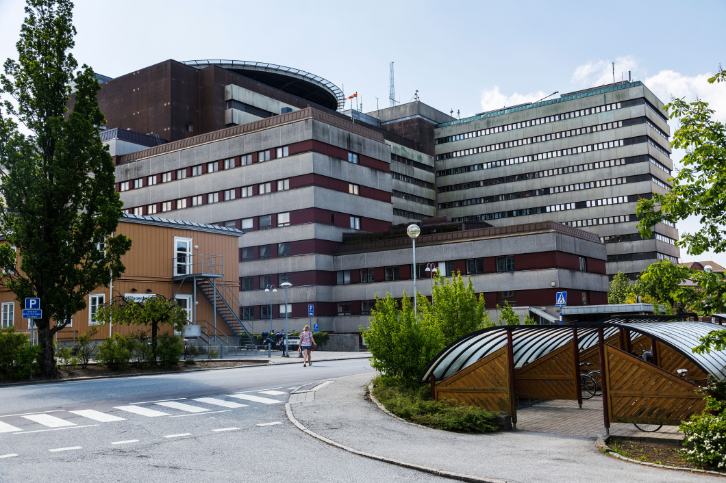 Passersystemet slogs ut på sjukhuset i Lund