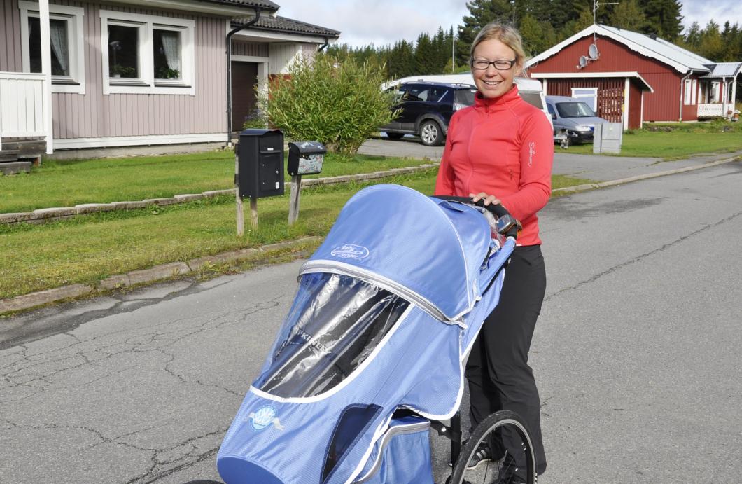 Hallå där Elisabeth! …som springer genom Sverige för barn med cancer