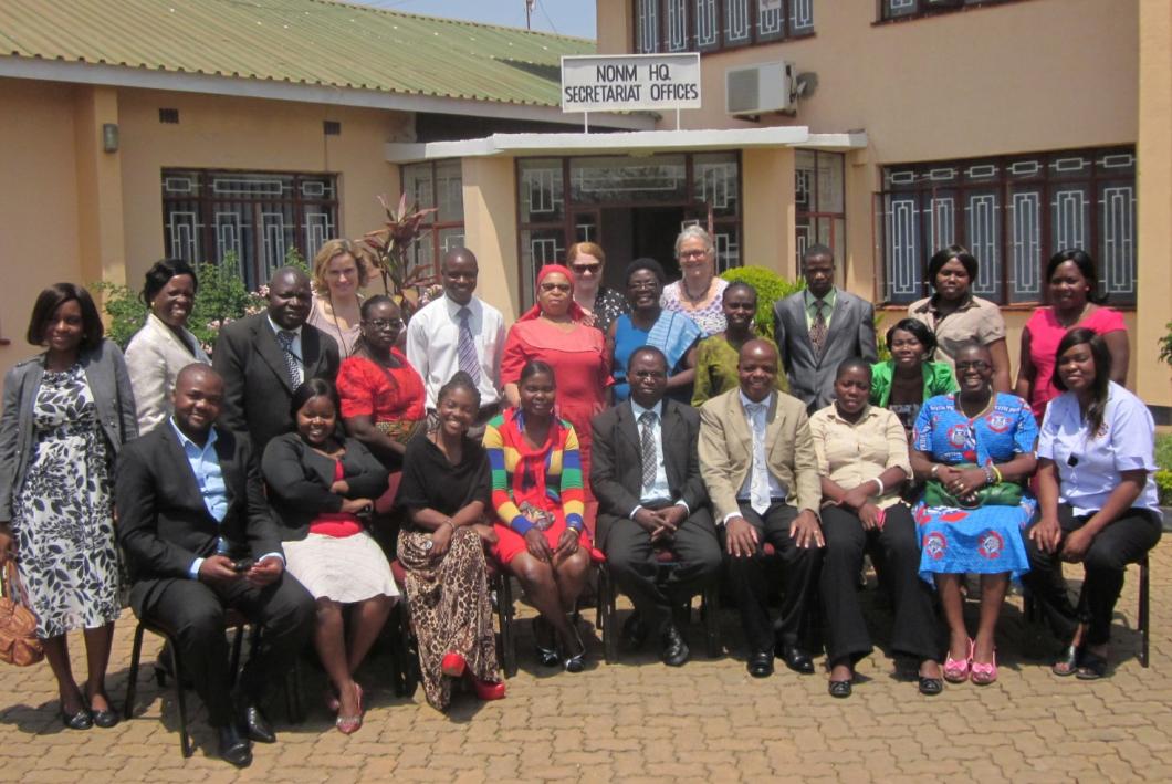 Vårdförbundet stöttar blivande ledare i Afrika