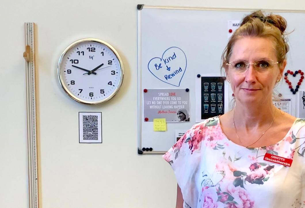 """Skolsköterska i Malmö: """"Det känns inte tryggt"""""""