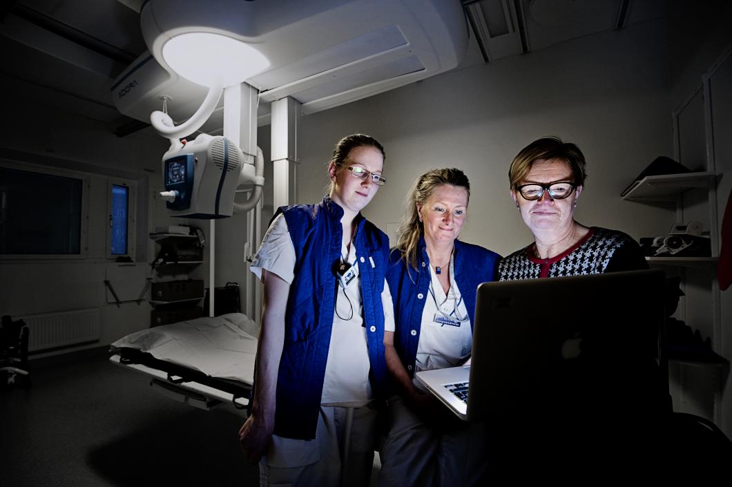 Röntgenveckan. Bloggare visar upp sig