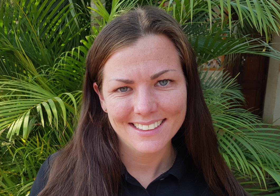 Hon hjälper till i kampen mot Amazonas bränder