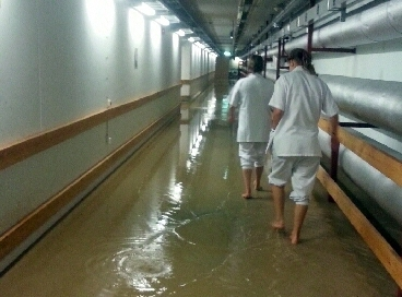 Översvämning stänger akutmottagning i Jönköping