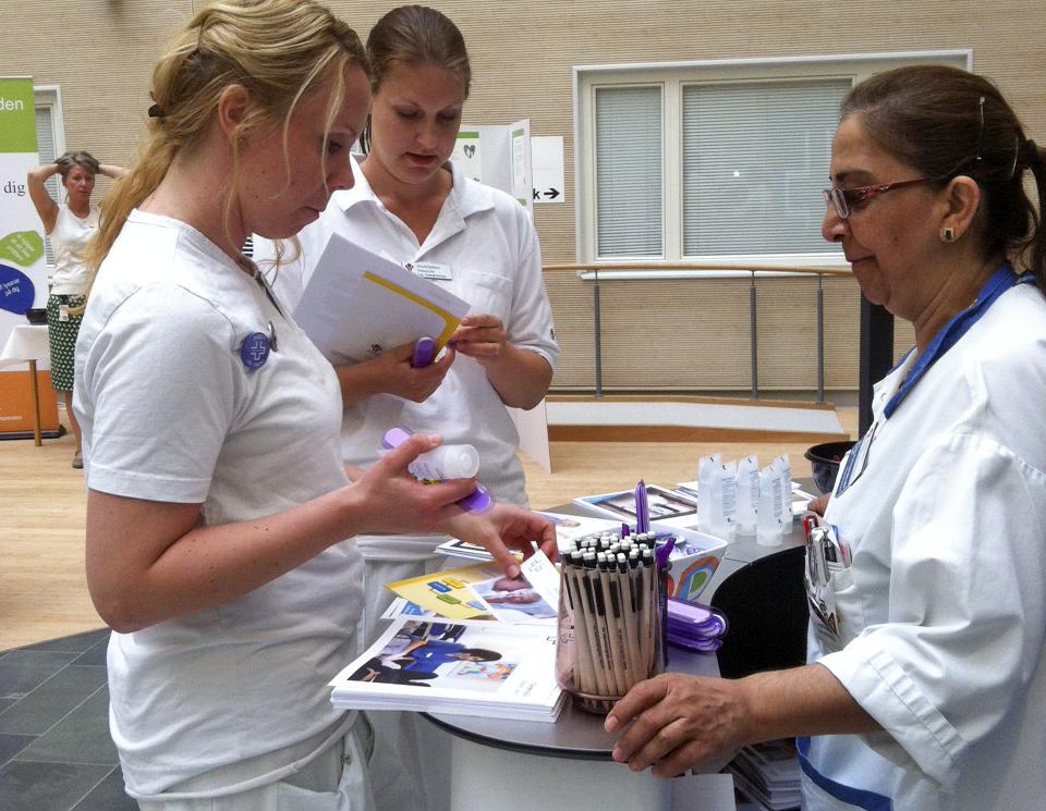 Vårdförbundet tog initiativ till patientsäkerhetsdag