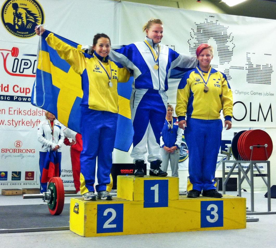Sveriges starkaste sjuksköterska blev sexa i världen