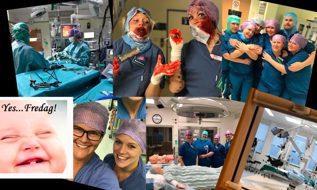 Så här roligt har de på operation i Falun