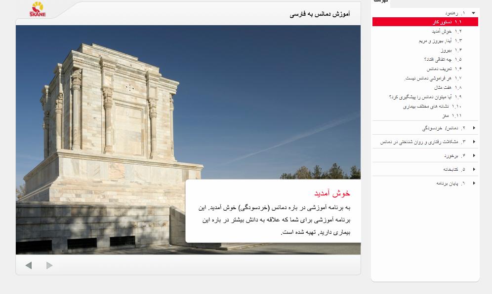 Många vill veta mer om svensk demensutbildning på persiska