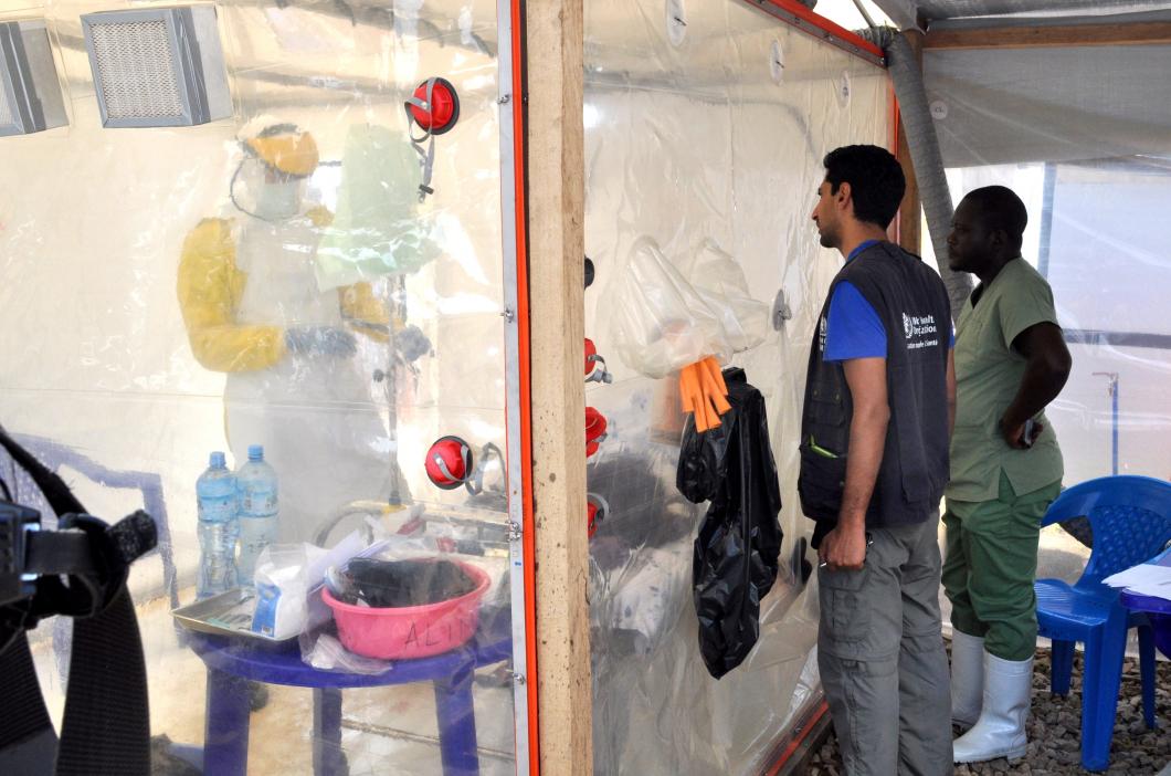 Oro för att ebola ska sprida sig