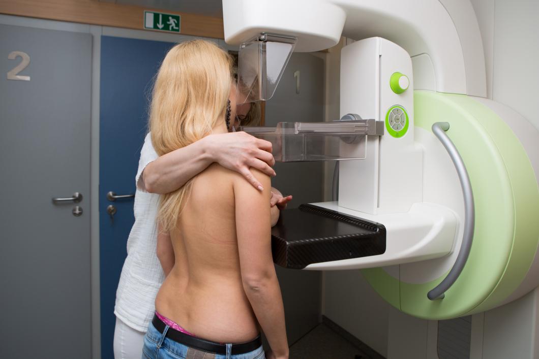 Halva trycket minskar smärtan vid mammografi