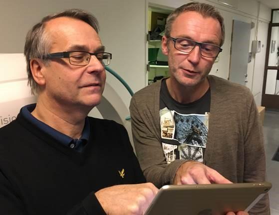 Snabbare strokevård med hjälp av läsplattor