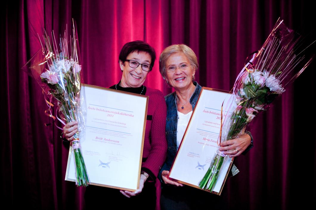 Två blev Årets bröstsjuksköterska