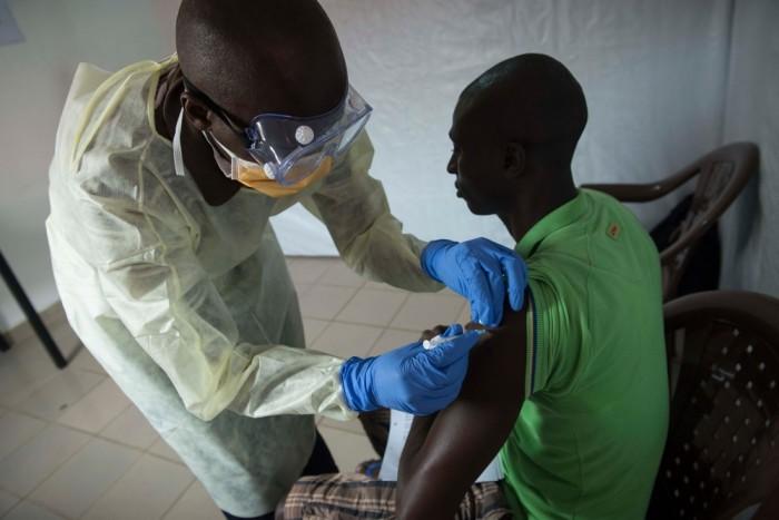 """""""Unikt genombrott för ebolavaccin"""""""