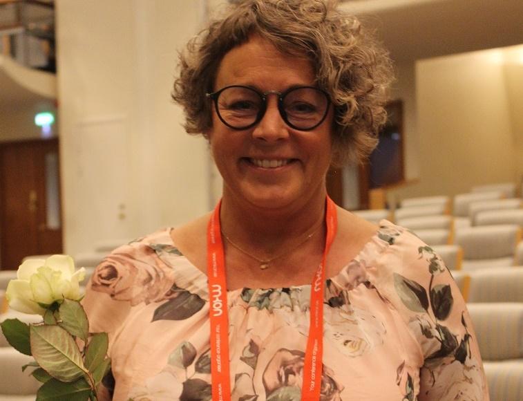 Hon är årets sjuksköterska inom palliativ vård
