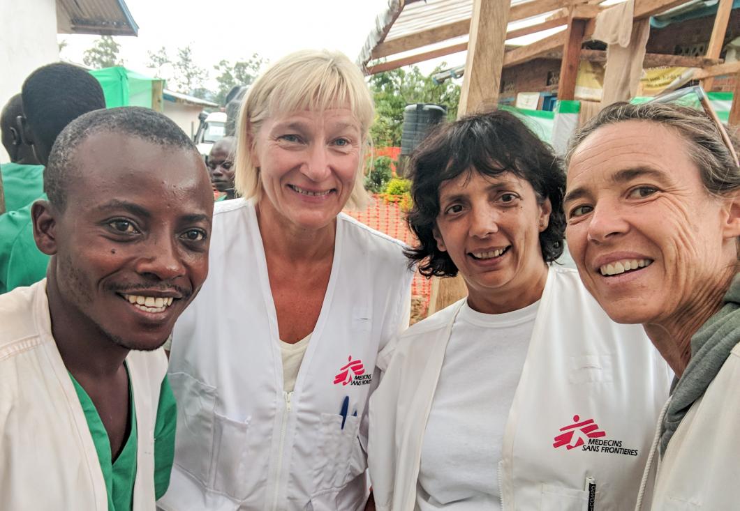Svensk sjuksköterska berättar om arbetet mot ebola i Kongo