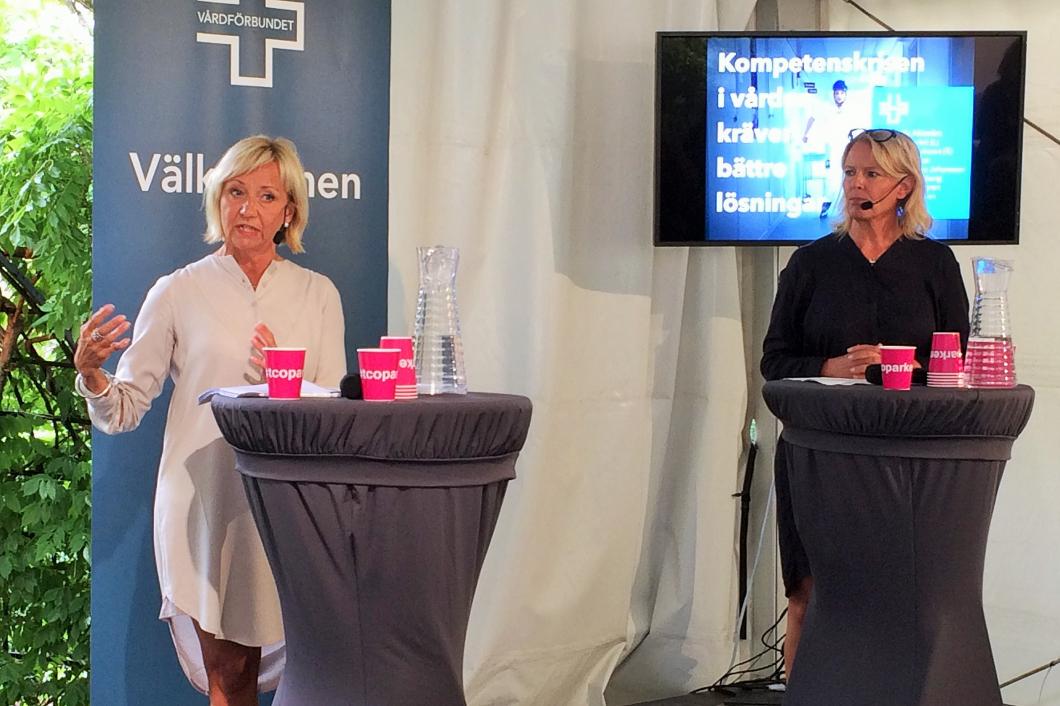 Vårdförbundet: Brist på sjuksköterskor – inte sängar