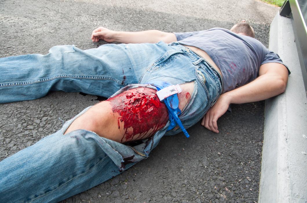 De vill lära allmänheten att stoppa blödning