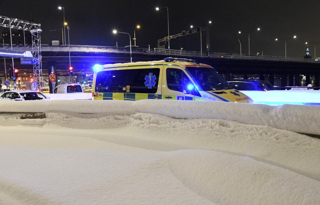 Stockholm fick larma försvarsmakten i snökaoset
