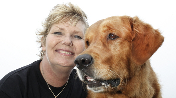 Almedalen. Annika Östberg vill införa hundar i kriminalvården